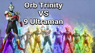 Ultraman Orb Trinity VS 9 Ultraman