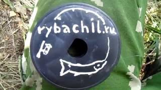 Ловля окуня  на спиннинг с берега в заброд, видео rybachil.ru