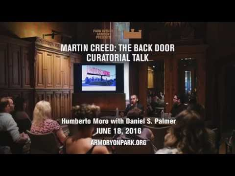 Martin Creed Curatorial Talk -  Daniel S. Palmer