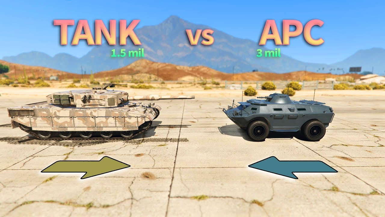 gta v how to get tank