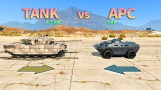 Gambar cover GTA V - Tank vs APC