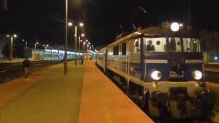 """Stacja: KATOWICE - Odjazd EU07-303 z wakacyjnym TLK """"BRYZA"""" do Świnoujścia i Kołobrzegu"""