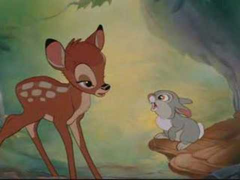 Bambi learns how to speak Icelandic, learn along!