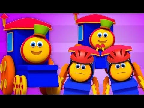 Bob il treno | cinque piccoli bambini | canzoni per bambini | filastrocche | Bob Five Little Babies