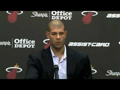 Miami Heat's Shane Battier Full Press Conference