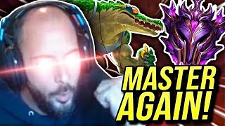PROMOTED BACK TO MASTERS!!! SEASON 9 MASTER TOP! - Road To Challenger | League of Legends