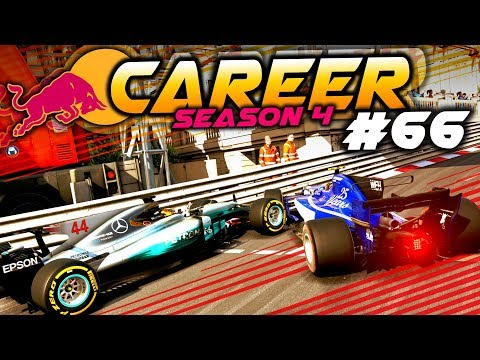 F1 2017 Career Mode Part 66: RACE BAN WORTHY INCIDENT AT MONACO