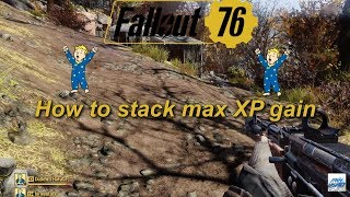 Fallout 76: How to stack max XP gain