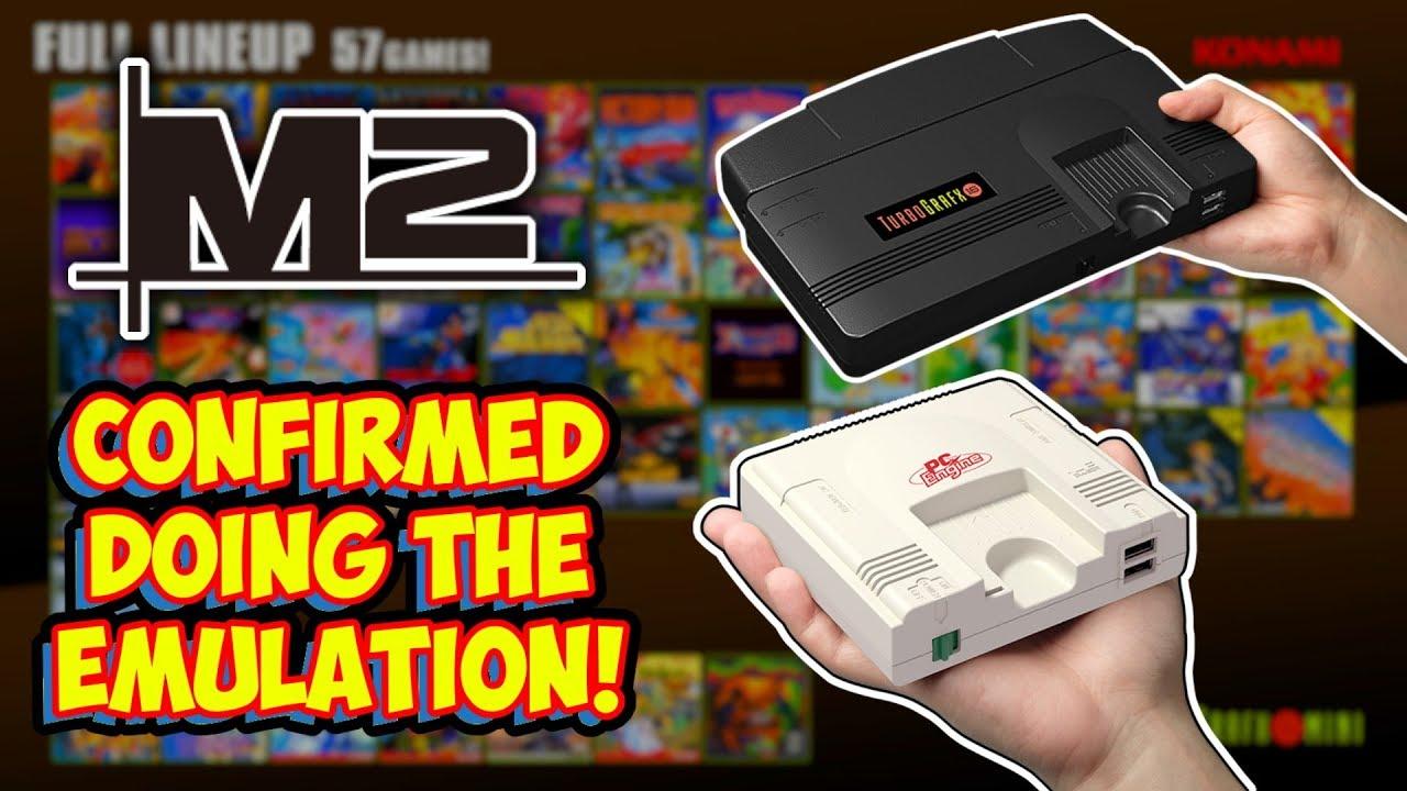 Konami Announces M2 Doing TurboGrafx-16 Mini Emulation! Plus I Respond To  Comments!