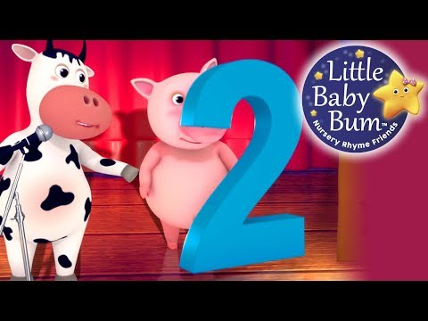 Numbers Song | Number 2 | Nursery Rhymes | Original Song By LittleBabyBum!