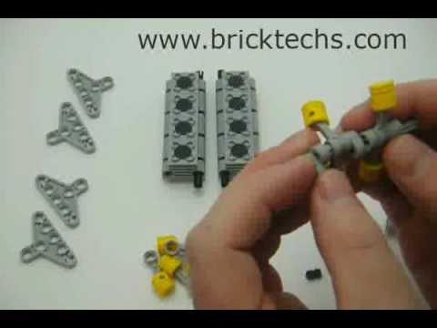 Build a Lego V8 Engine Tutorial - YouTube