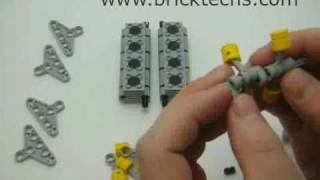 Build a Lego V8 Engine Tutorial