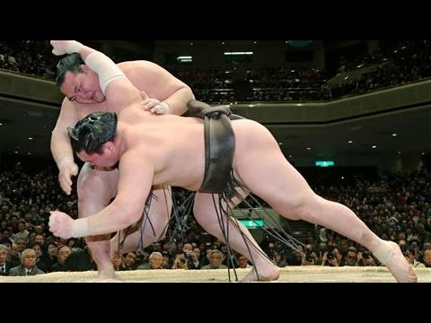 Japan Celebrates First Native Sumo Champion in 19 Years