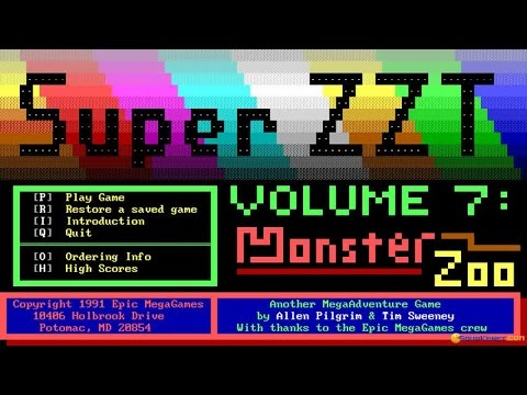 Super ZZT gameplay (PC Game, 1992) - YouTube