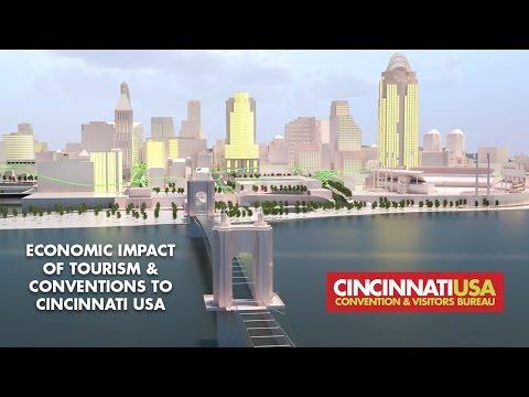 Economic Impact of Tourism & Conventions to Cincinnati USA