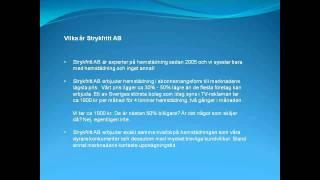 Strykfritt AB - Hemstädning och städhjälp i Stockholm(, 2011-10-26T14:12:21.000Z)