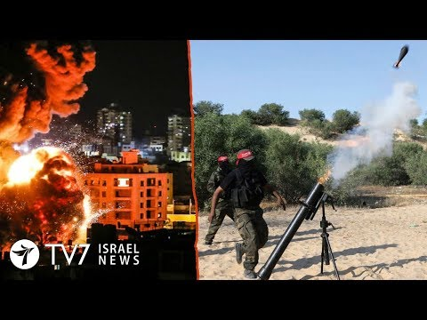 Israeli communities under rocket-fire following Gaza bombardment - TV7 Israel News 02.05.19