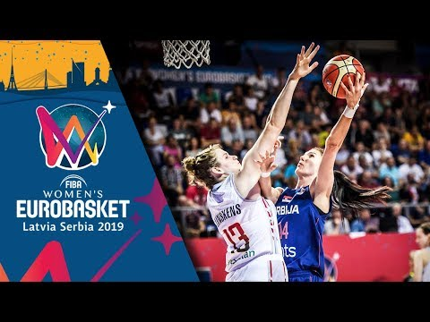 Belgium v Serbia - Highlights - FIBA Women's EuroBasket 2019