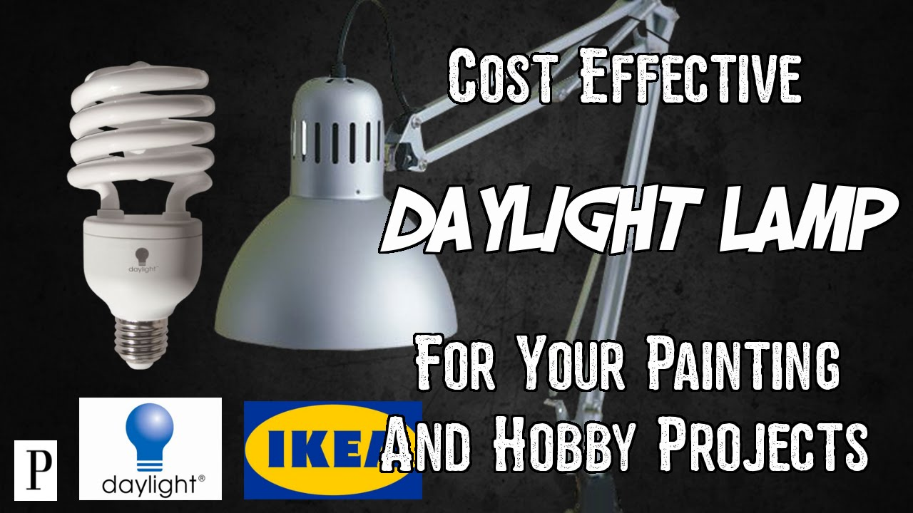How To Make Cost Effective Daylight Lamps For Painting And ...