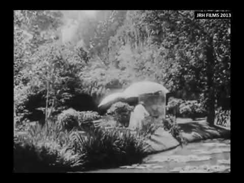 Claude Monet - Filmed Painting Outdoors - 1915