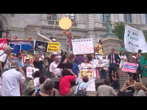 Largest Anti-Fracking Protest in New York State History - 06/17/2013
