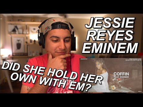 JESSIE REYEZ X EMINEM - COFFIN REACTION!! | AGORGEOUS VOICE!!