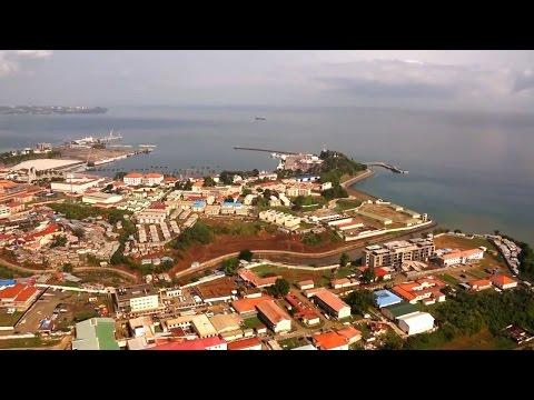 Equatorial Guinea. Malabo and Bata / Крупные города Экваториальной Гвинеи. Малабо и Бата.