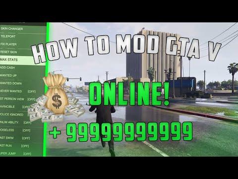 (HOW TO INSTALL GTA V MOD MENU) - ONLINE PC MOD MENU!! *2019*