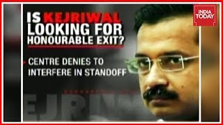 Delhi Deadlock : Is Kejriwal Looking For Honourable Exit ? | News Today With Rajdeep