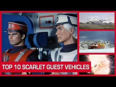 Top 10 Captain Scarlet Guest Vehicles