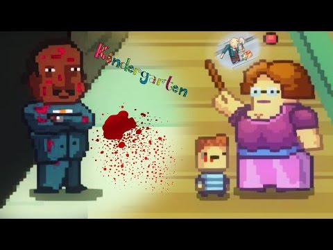 KILLING ALL THE STUDENTS FOR THE TEACHER THO!? | Kindergarte