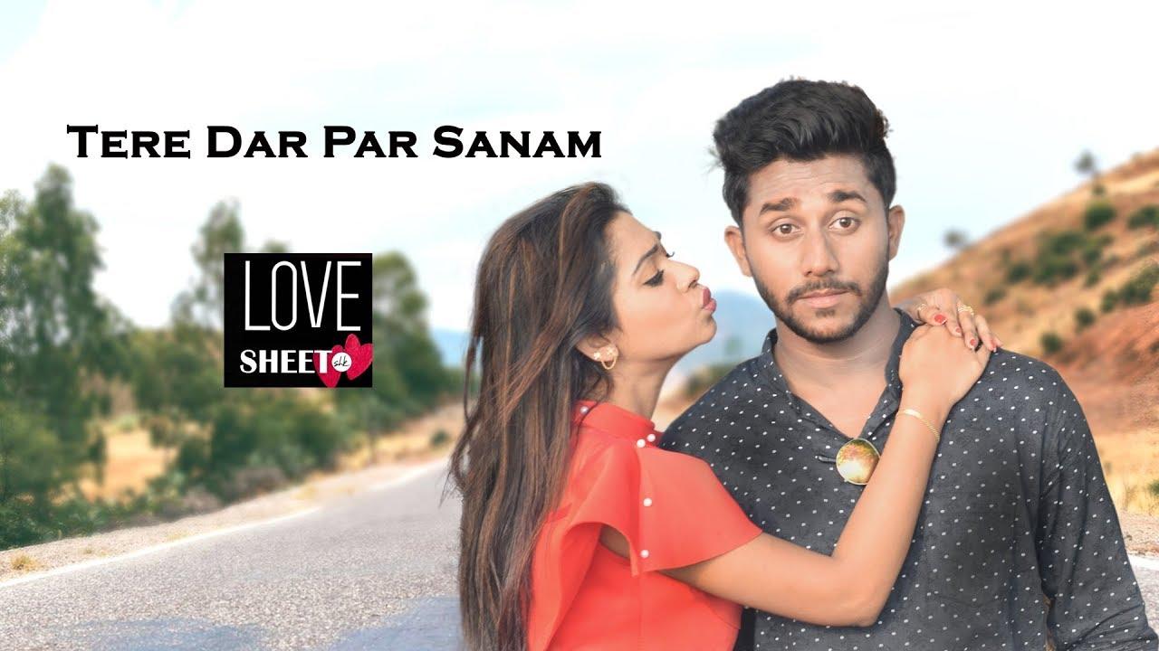 Tere Dar Par Sanam L Cute Love Story L Latest Punjabi Hindi New Song