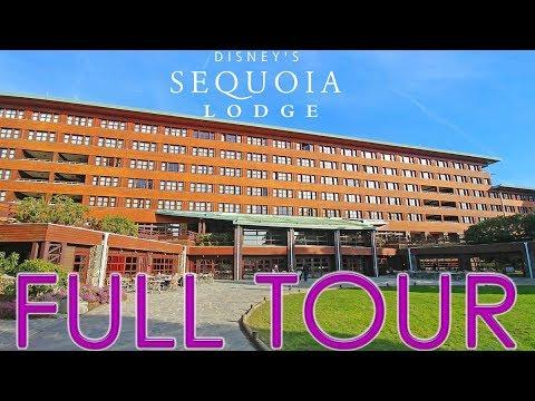 [4K] Disney's Sequoia Lodge - Full Tour - Disneyland Paris