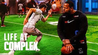 Nike Football Combine With Ndamukong Suh! | #LIFEATCOMPLEX