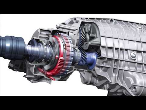 Audi Quattro Ultra four wheel drive system explained