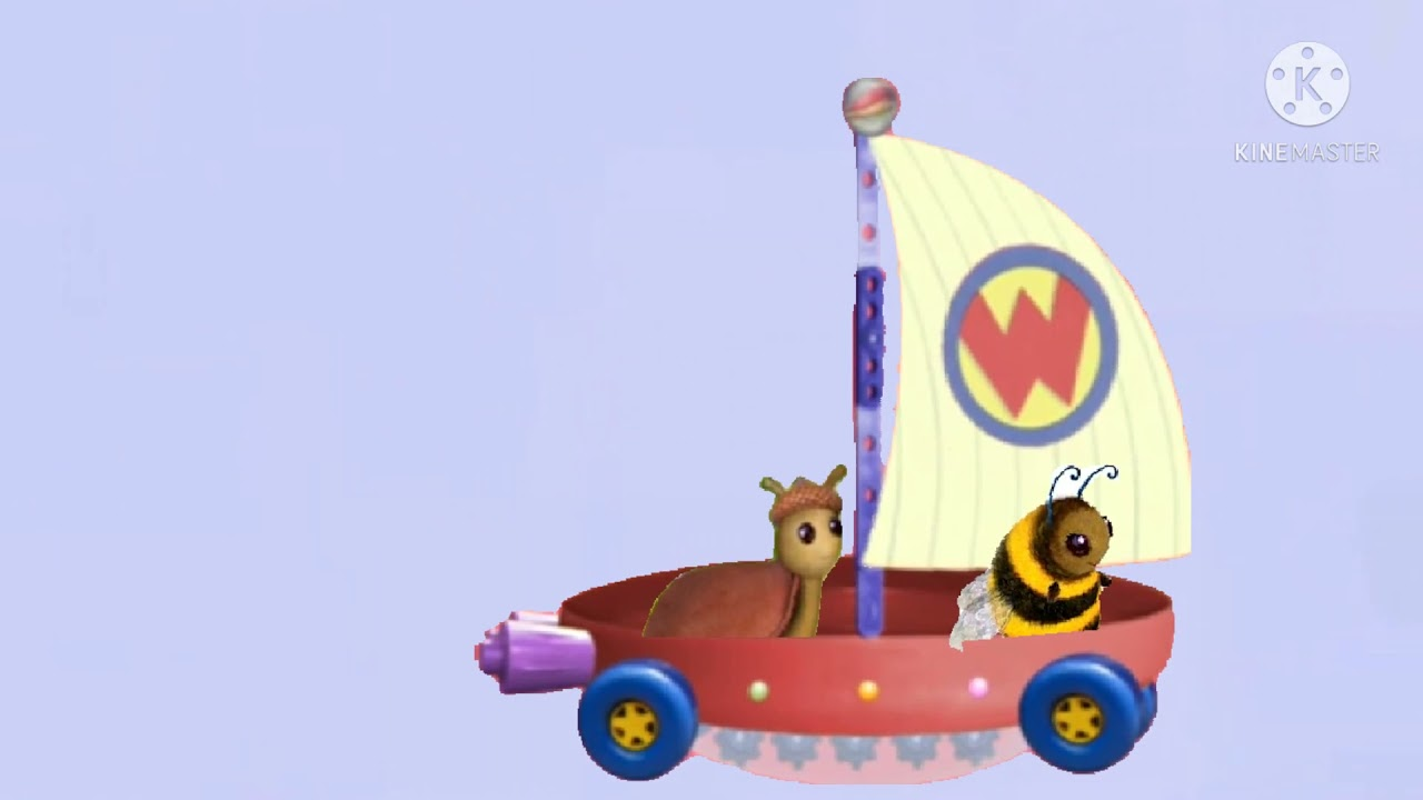 Download bee and slug riding the wonder pets flyboat