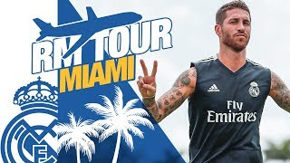 Real Madrid USA Tour | RAMOS, FUNNY MOMENTS, GOALS...