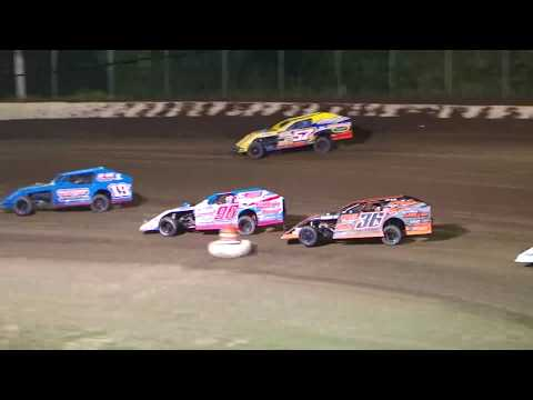 DIRTcar Summer Nationals Modifieds Lasalle Speedway June 28th, 2018 | HIGHLIGHTS