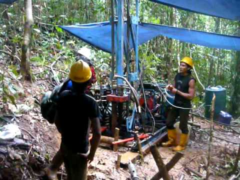 Drill works in Indonesia