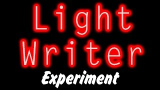 Light Writer Experiment : Photography Tutorial For Beginners | Learn Photography Tutorial