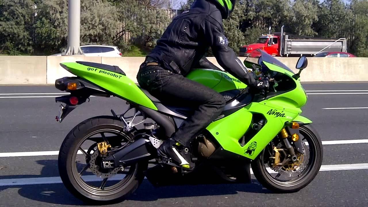 2006 Kawasaki Ninja zx6r 636 Part 1 - YouTube