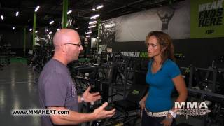 MMA H.E.A.T. - Tour of Muscle Pharm Sports Science Center with Rampage Jackson
