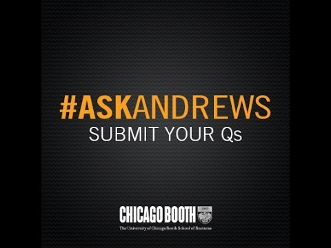 What Differentiates A Booth MBA From Others? #AskAndrews