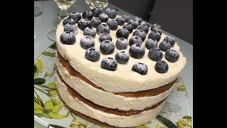 Торт «Молочные реки, бисквитные берега»: рецепт от Foodman.club