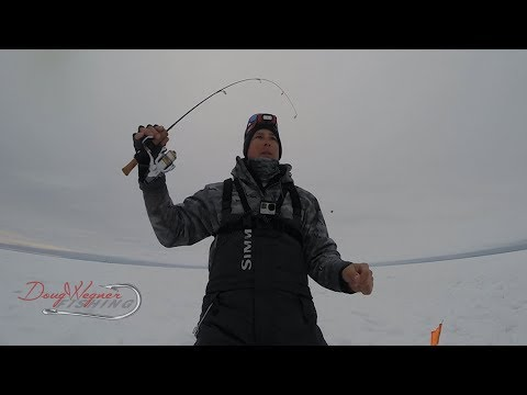 FISHING WALLEYES WITH DEAD STICKS (The Perfect Set Up)