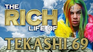 TEKASHI 69 | The RICH Life | Forbes Net Worth | Chains, Grillz, Tattoos & more...