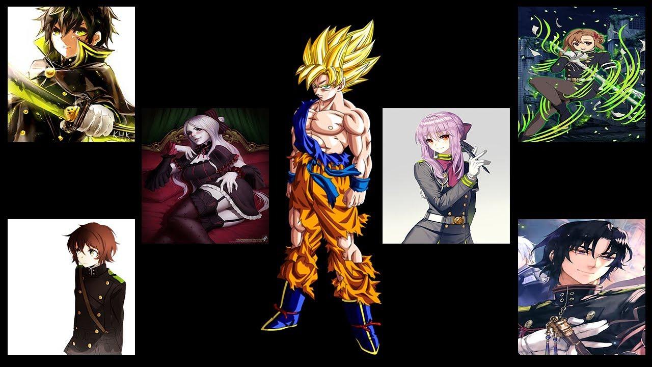 Goku en seraph of the end (cap 3)