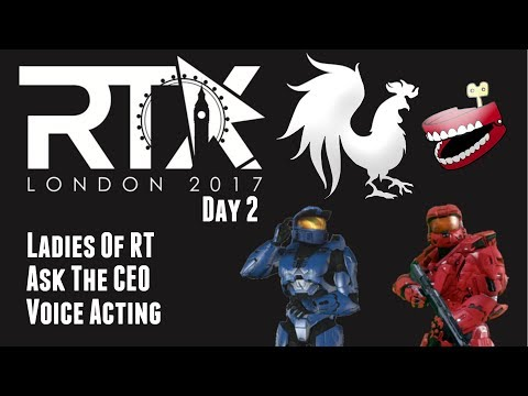 RTX London: Day 2 (Getting Creeped Up On By Joel Heyman And Asking Matt Hullum A Question)