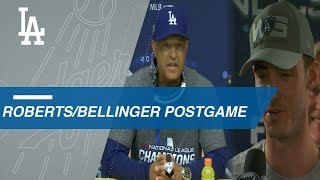 NLCS Gm7: Roberts, Bellinger on World Series berth