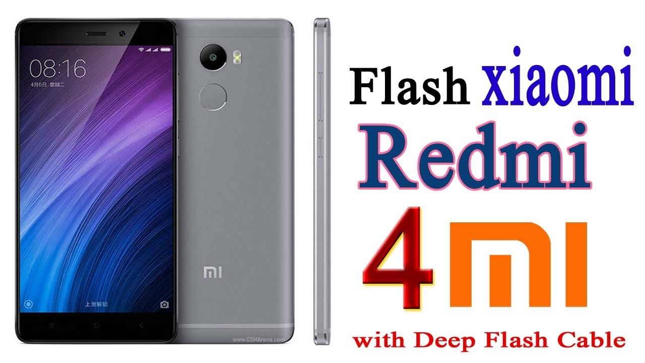 Xiaomi Redmi 4 Flashing Fastboot rom